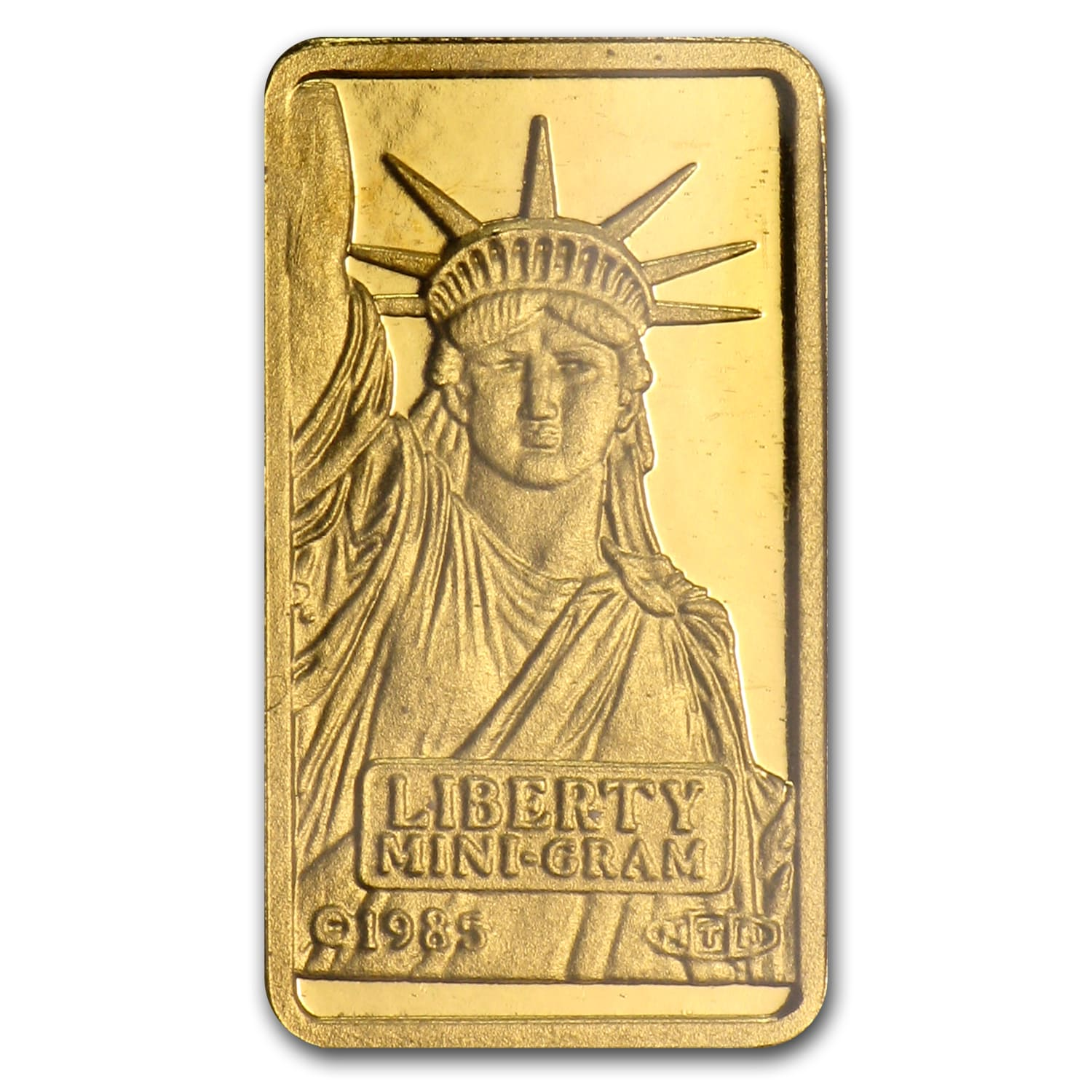 1 gram Gold Bars - Credit Suisse (Statue of Liberty) (In Assay)
